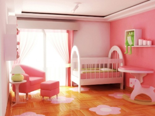 Beauty Pink Baby Room
