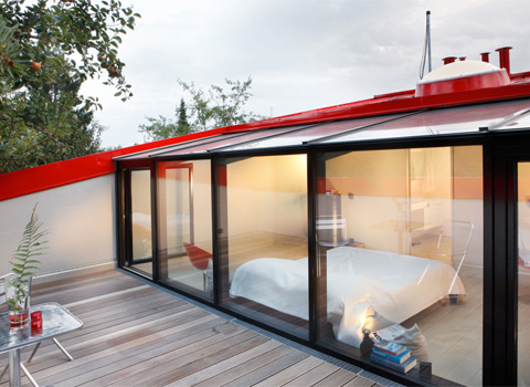 Color Red Roofs Home Design