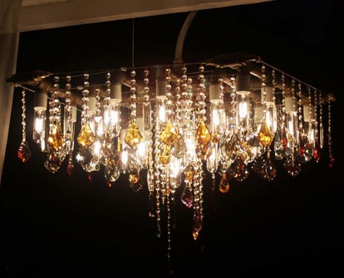Crystals Lamp Home Designs
