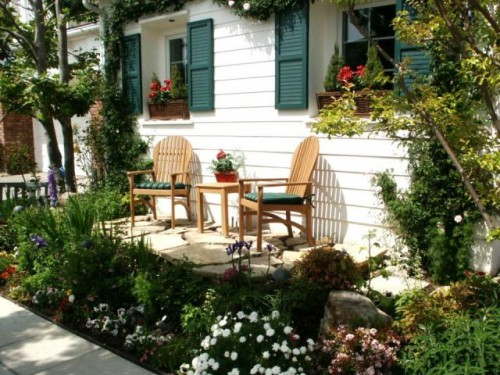 Great Home Garden Setting Designs for 2012
