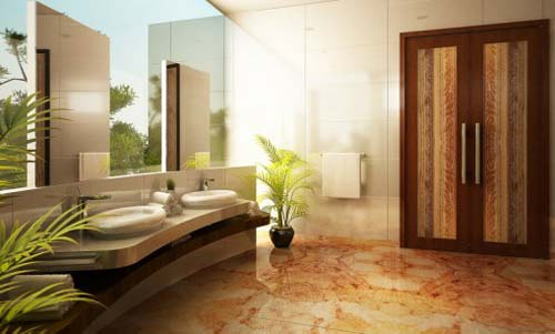 Great Natural Stone Bathroom Architecture