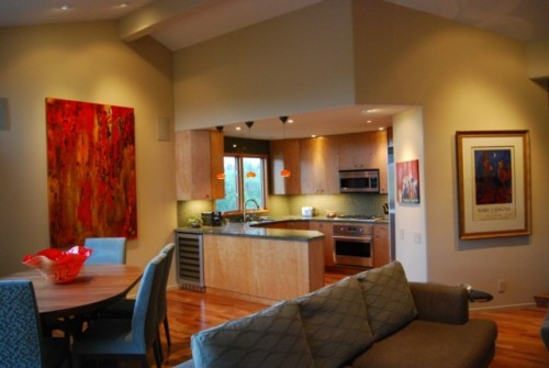 Luxurious Kitchen and Dining Room Design