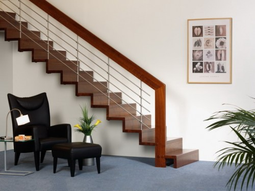 Modern Wood Stairs Home Design in 2011