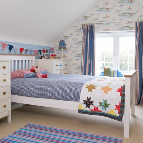 NAutical Themes Wallpaper For Kids Bedroom Ideas