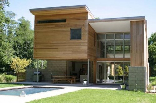 Natural Modern Home Architecture