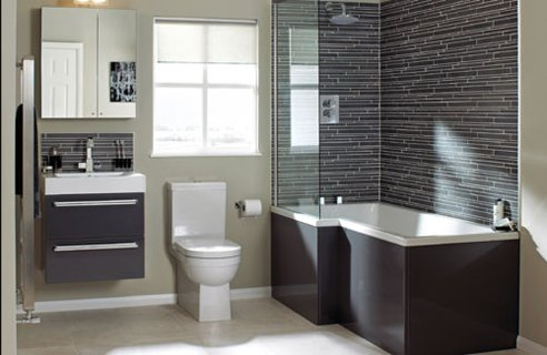 New Bathroom with Modern Architecture