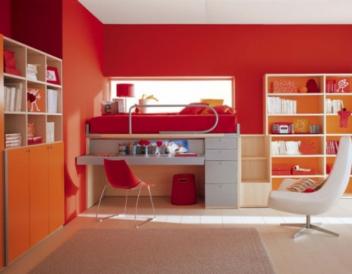 New Interior Designs for Beauty Child Study Room