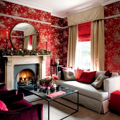 New Living Room Designs with Wallpaper Room Art