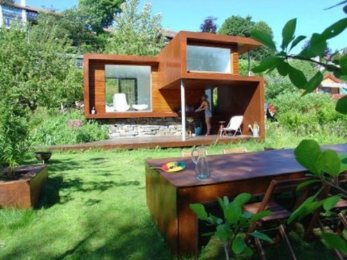 New Minimalist House Designs with Architectural Style Europa
