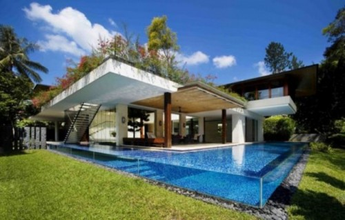 New Tropical House Designs for Luxury Architecture
