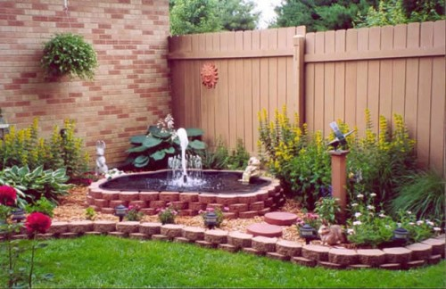 Nice Water Fountain Home Designs