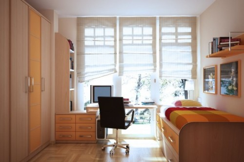 Wooden Furniture for Teen Bedroom Decorating Ideas
